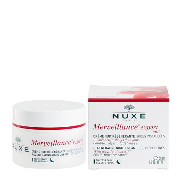 night cream expert nuxe merveillance 50 ml. Black Bedroom Furniture Sets. Home Design Ideas