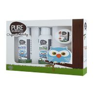 Baby gift set Pure Beginnings Baby wash & shampoo, baby lotion, baby bum cream 1 pk