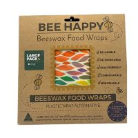 Beeswax Food Wraps 2 x Large 1 pk