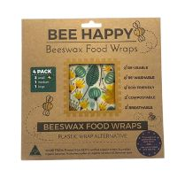 Beeswax Food Wraps 4 Pack 1 pk
