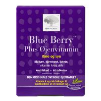 Blue Berry plus øjenvitamin 10 mg 60 tab