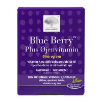 Blue Berry plus øjenvitamin 120 tab