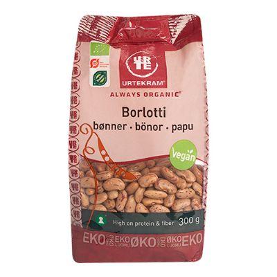 Køb Borlotti Bønner økologisk 300 G