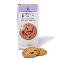 Chocolate chip & hasselnød økologisk cookies 150 g