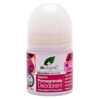 Deo roll on Pomegranate Dr. Organic 50 ml