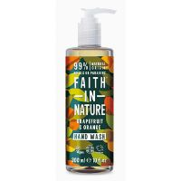 Håndsæbe grape & orange Faith in nature 300 ml