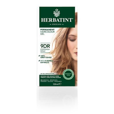 Herbatint 9DR hårfarve Copperish Gold 150 ml