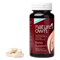 Knogler - Bone Support Wholefood 60 kap
