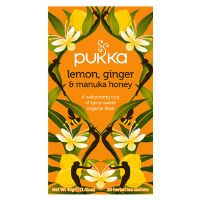 Lemon, Ginger & Manuka  honey te økologisk Pukka 20 br