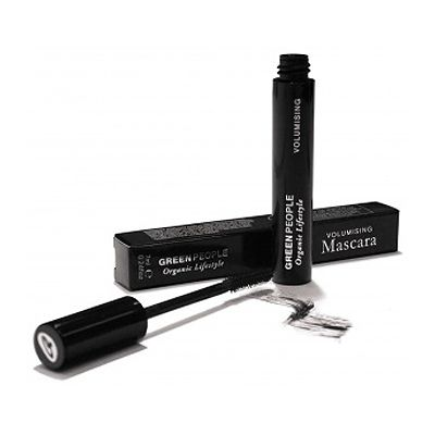 Mascara volumising brown black GreenPeople 7 ml