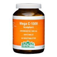 Mega C 1500 mg HealthCare 80 tab