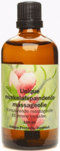 Muskelafspændings massageolie 100 ml