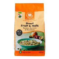 Mysli fruit & nuts økologisk 650 g