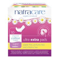 Natracare ultra extra bind super 10 antal
