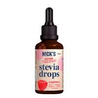 Nicks stevia drops raspberry 50 ml