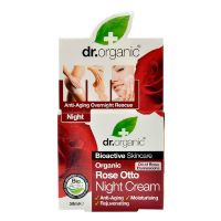 Night cream Rose Otto Dr. Organic 50 ml