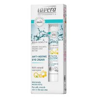 Øjencreme Q10 Anti-Age Lavera Basis sensitiv 15 ml