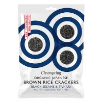 Rice Cracker black sesame økologisk 40 g