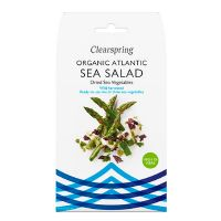 Sea Salad tang økologisk (dulse, sea lettuce, nori) 25 g