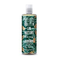 Shampoo Blue Cedar mænd Faith in nature 400 ml