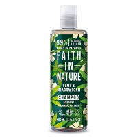 Shampoo Hamp & Engrapgræs - Faith in Nature 400 ml