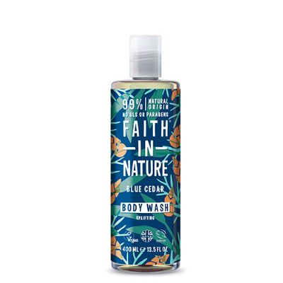 Showergel Blue Cedar mænd Faith in nature 400 ml