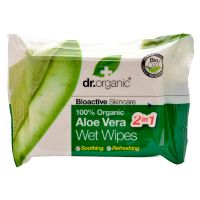 Wet Wipes Aloe Vera Dr. Organic 20 stk